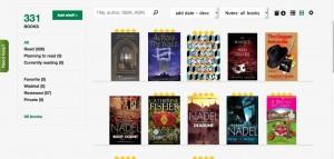 Booklikes shelf