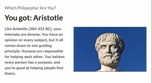 Philosopher quiz
