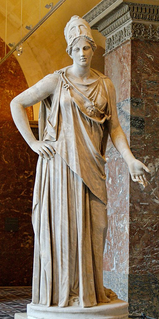 "?Greek Mythology: ""Athena, Goddess of Wisdom"".- | La Audacia de Aquiles"