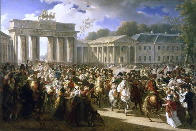 Soldiers in Berlin